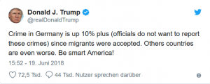 Fake News von Donald Trump