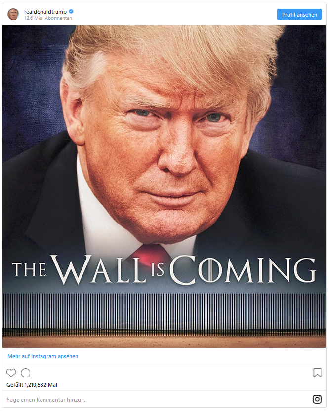 Trump: The Wall is Coming